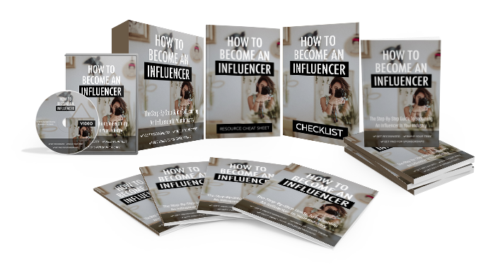 how to become an influencer - the bundle