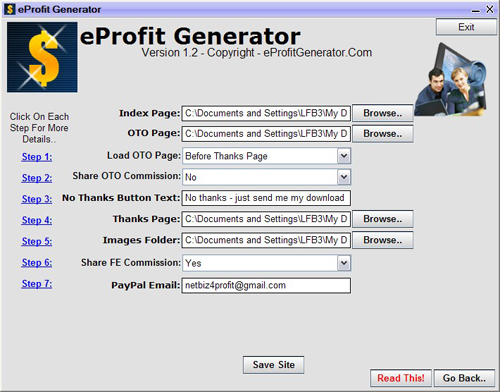 eprofit generator